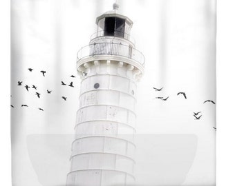 To the Lighthouse - Shower Curtain
