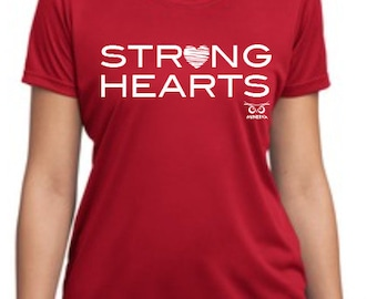 Strong Hearts Performance t-shirt