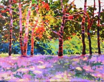 Spring symposium, 18 x 24 in. Original oil painting