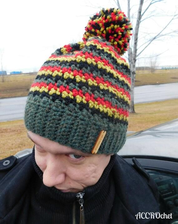 Da Boss Crochet Hat Pattern Mens Crochet Hat Pattern Hat