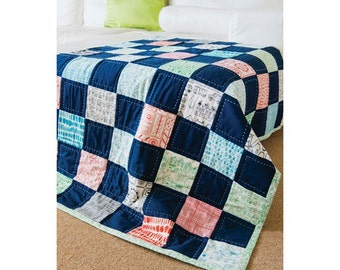 Checkerboard Charms Car Quilt Pattern Download 803130