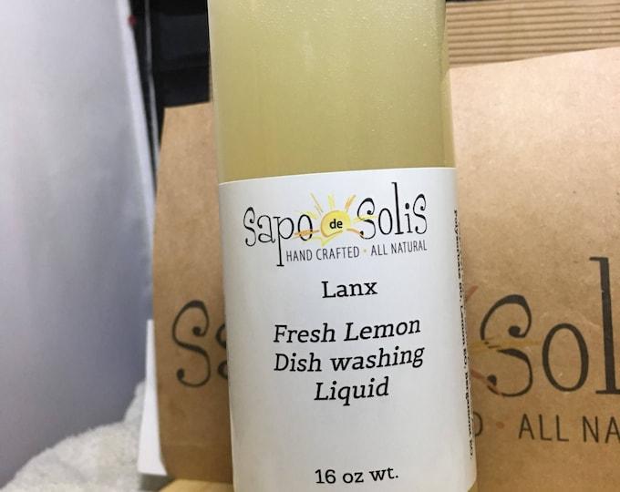 Fresh Lemon Dish Washing Liquid