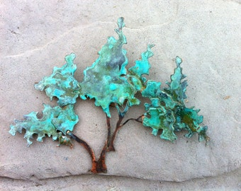 Commission Extra Small Bonsai Tree Wall Sculpture