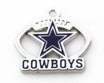 Cowboys necklace etsy aloadofball Images