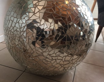 Large Mirror Ball mosaic