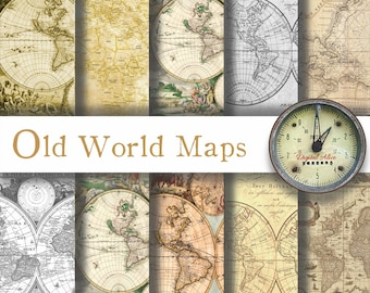 Ancient maps etsy old world maps gumiabroncs Image collections