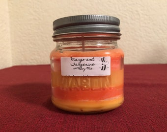 Customizable 100% American Soy Wax Candles