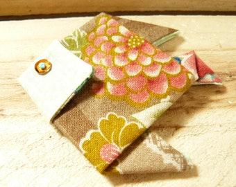 PIN fabric origami fish