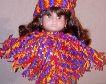 Clothing doll 36 to 42 cm 2 piece hand crocheted