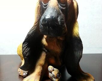 Bassett Hound Figurine