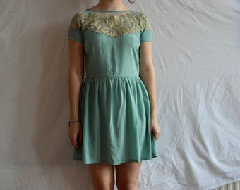 beautiful turquoise occasion dress