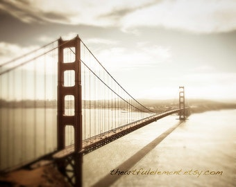 GET 20% OFF TODAY! San Francisco art, Large Canvas art, Coastal decor, Travel Photography, Bridge photography  / Golden Gate Bridge