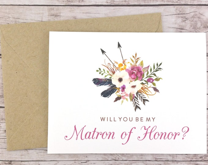 Will You Be My Matron of Honor Card (FPS0022)