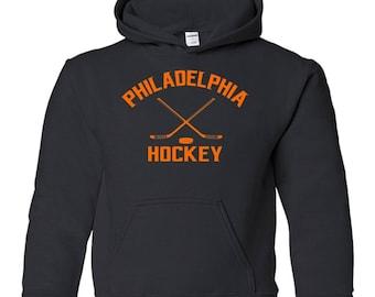 Retro Philadelphia Hockey Youth Hoodie