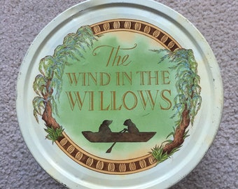 Wind in the Willows Collectable Biscuit Tin