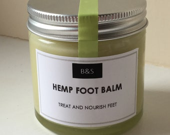 Vegan Hemp Foot Balm