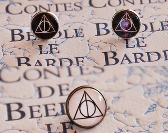 Pins brooch Harry Potter The Deathly Hollows 16 mm, 18 mm or 20 mm