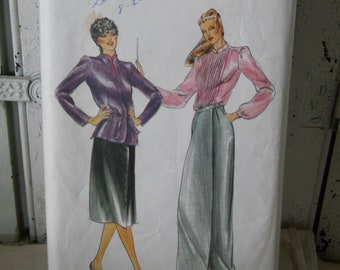 Butterick Pattern 3326 Evan-Picone Misses Jacket, Blouse & Skirt Uncut pattern Sewing Supplies