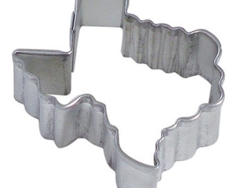 "MINI Texas Cookie Cutter, 1.5""  Texas state cookie cutter"