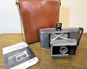 Vintage Polaroid J66 Land Camera - 1960's Collectible Instant Film Camera - Wedding Prop -  Photo Prop - Vintage Home Decor