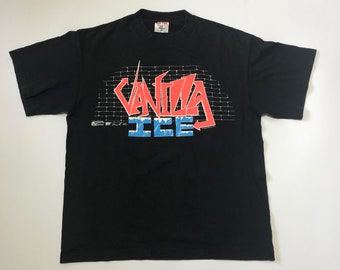 "Vintage 90s Vanilla Ice ""Ice Ice Baby "" to the extreme Tour"