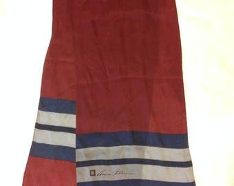 Anne Klein vintage silk scarf