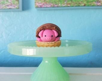 Ice Cream Cone Pig Macaron