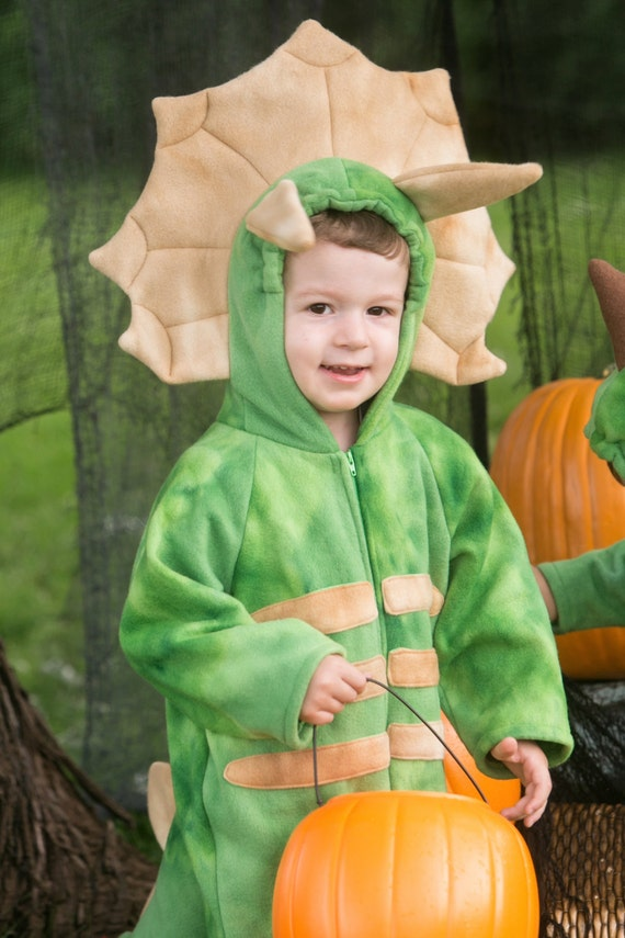 sc 1 st  Etsy & Triceratops Fleece Baby Costume Triceratops Dinosaur Costume