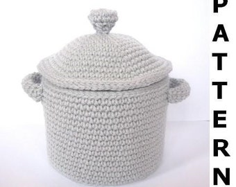 Pots and Pans Crochet Pattern