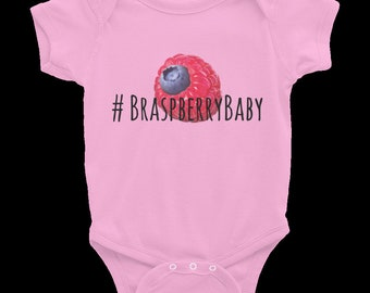 Braspberry Baby Classic Collection Pink Onesie