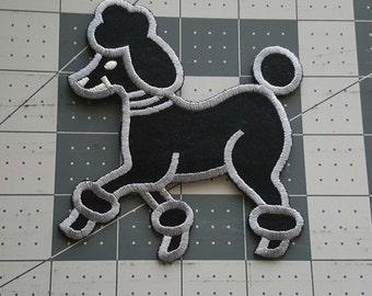 Poodle Patch/applique