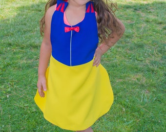 Snow White Inspired Dress Up Apron