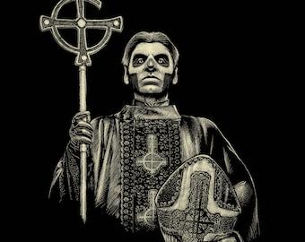POSTER PAPA EMERITUS and his nameless ghouls