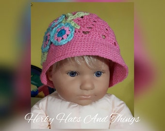 Little Flower - Spring hat