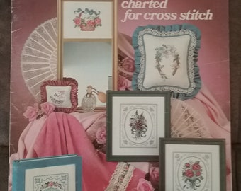 Bouquets & Lace Cross Stitch Leaflet