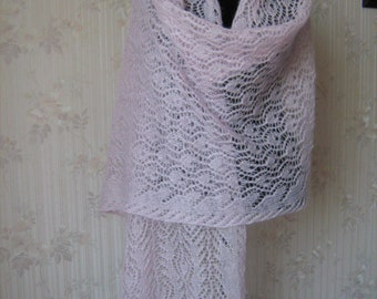 Mohair Knit Stole