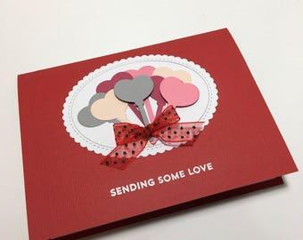 Send some love in a card - Valentine's card