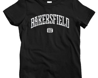 Kids Bakersfield 661 T-shirt - Baby, Toddler, and Youth Sizes - Bakersfield California Tee - 4 Colors