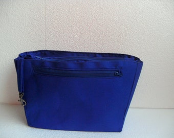 Bag organizer for Louis Vuitton Avalon MM - Purse organizer in  Royal Blue- Inverted trapezoid shape