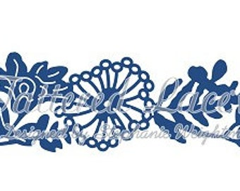 Tattered Lace Die Floral Flourish Bouquet