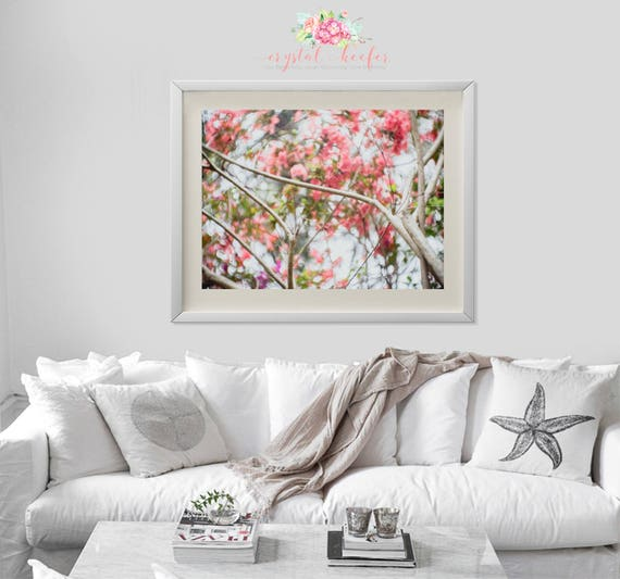 Fine Art Photography - Blooms behind the branch