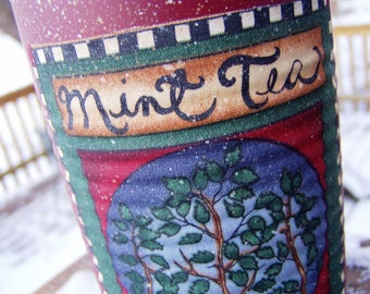 Decorative Tin - Mint Tea