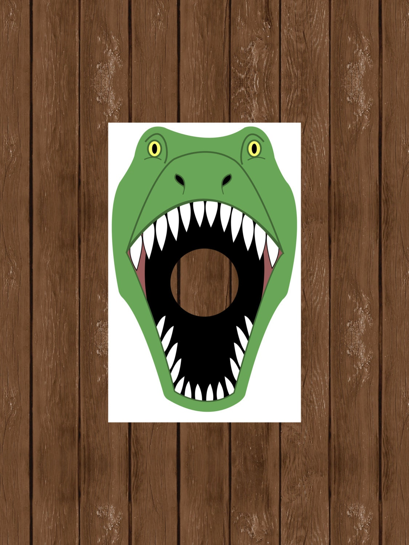 Dino Toss Feed the T Rex Dinosaur Birthday Party Dinosaur