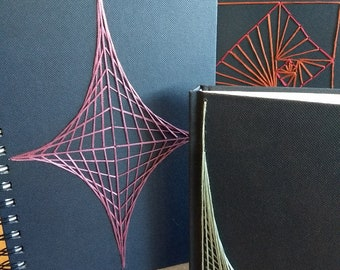 Custom String Art Notebook