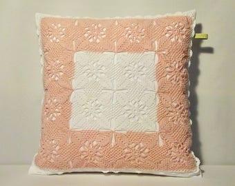 Large Crochet cushion