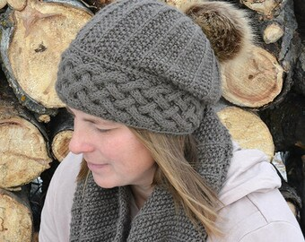 KNITTING PATTERNS hat // knitting patterns for women // knit pattern hat // hat knitting pattern // knitting hat pattern children