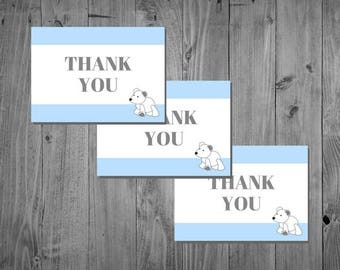 Baby Shower Thank You Cards - Mountain Theme