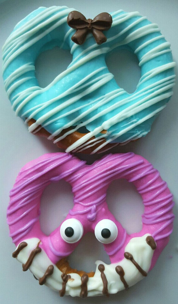 Chocolate covered pretzels Alice in Wonderland Cheshire Cat