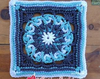 Nicole Circle in A Square Crochet Pattern