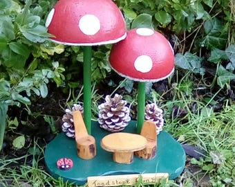 The Toad Stool Fairy Cafe